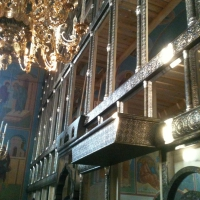 Иконостас храм вмч. Никиты