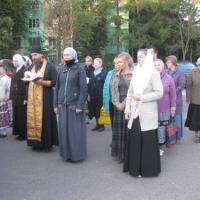 Бутово: Молитва перед отправлением