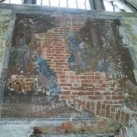 Остатки фрески