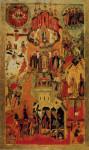 Икона Обновления храма Воскресения Христова в Иерусалиме